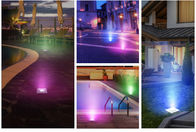 Stainless Steel 900LM 960ma 24W Rgb Led Pool Lights