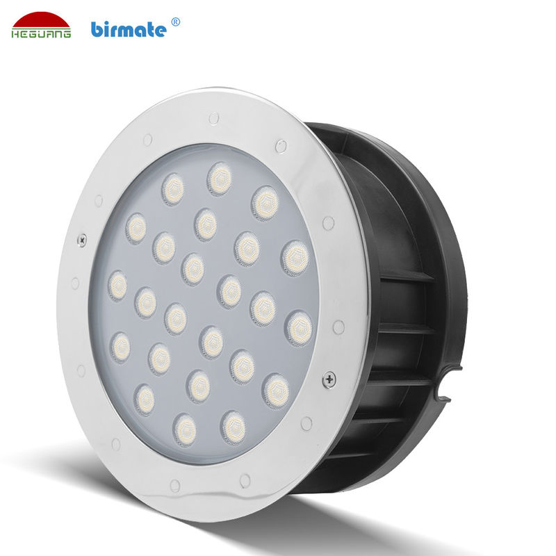 1500ma Current Underwater LED Spotlights 36W Pure 6500K DC 24V Shinning Angle 30°