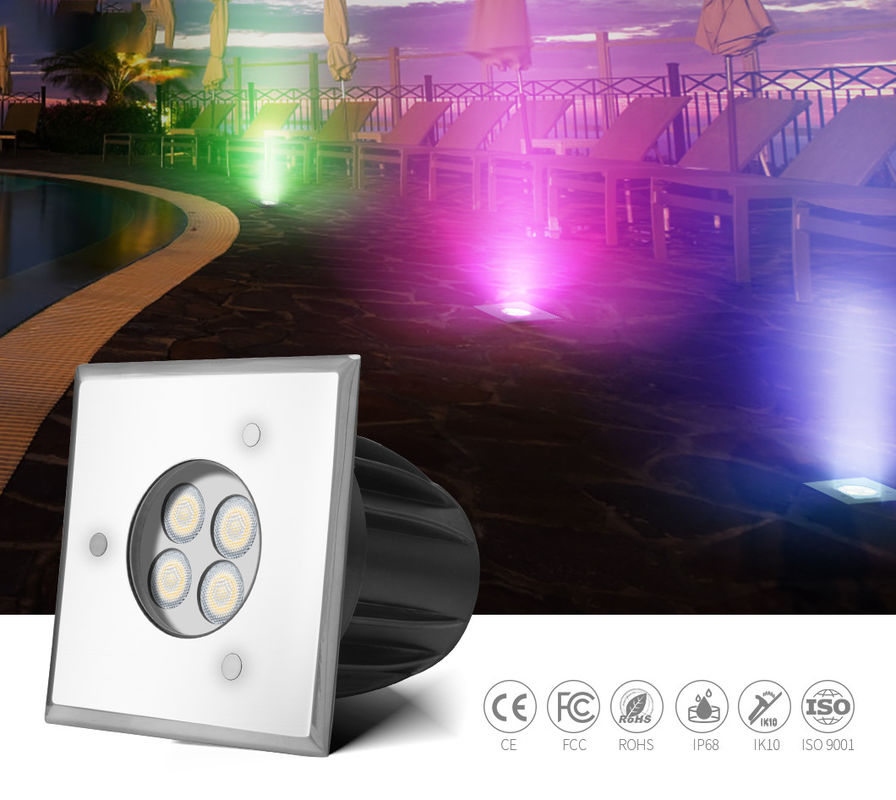 Lawn Plaza 300LM SMD3030 Underground LED Lighting DC24V